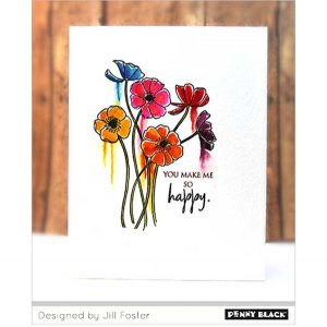 Penny Black Wildflowers Stamp Set class=