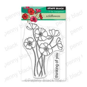 Penny Black Wildflowers Stamp Set