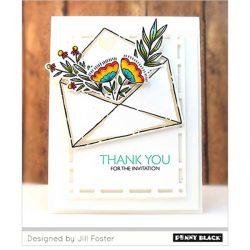Penny Black Exquisite Envelope Stamp Set