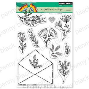 Penny Black Exquisite Envelope Stamp Set