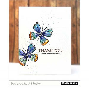 Penny Black Wings & Vases Clear Stamp Set class=