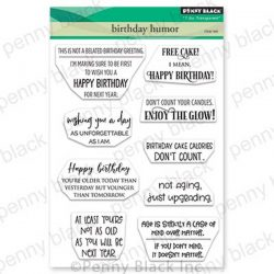 Penny Black Birthday Humor