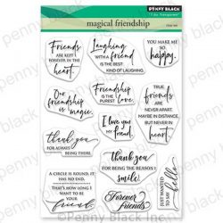 Penny Black Magical Friendship Clear Stamp Set