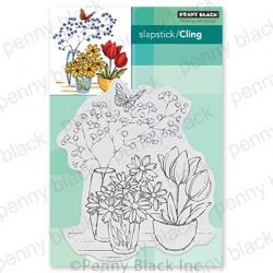 Penny Black Alluring Arrangement Cling Stamp