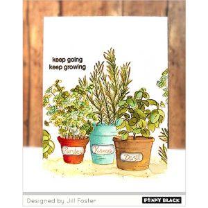 Penny Black Herb Garden class=