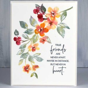 Penny Black Nature's Glory Cling Stamp class=