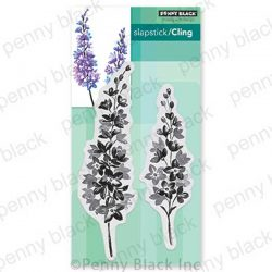 Penny Black Lovely Lilacs Cling Stamp