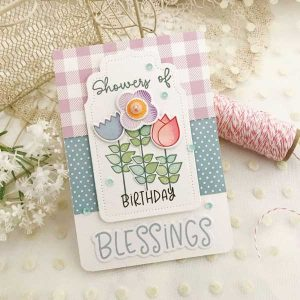 Ink To Paper Garden of Blessings Stamp class=