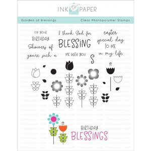Ink To Paper Garden of Blessings Stamp