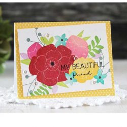 Beautiful Bouquet Stamp