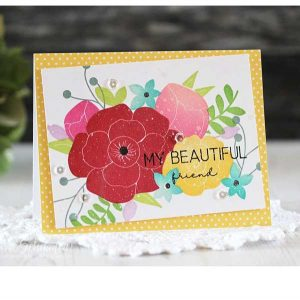 Ink To Paper Beautiful Bouquet Stamp class=