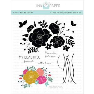 Ink To Paper Beautiful Bouquet Stamp