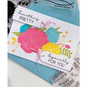 Ink To Paper Beautiful Bouquet: Sentiments Mini Stamp Set class=