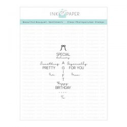 Ink To Paper Beautiful Bouquet: Sentiments Mini Stamp Set