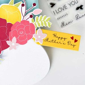 Ink To Paper Beautiful Bouquet: Mother Mini Stamp Set class=