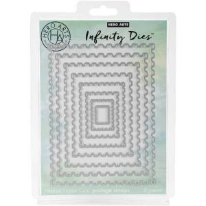 Hero Arts Infinity Postage Stamp Die Set