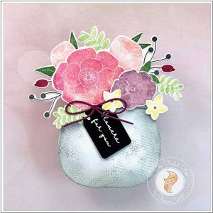 Ink To Paper Go-To Gift Card Holder: Flower Pot Die class=