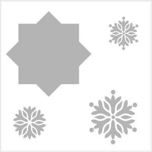 Gina K Designs Mini Wreath Builder Template Stencil
