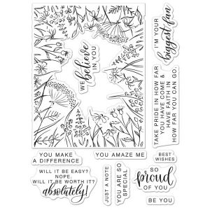 Hero Arts You Make A Difference Stamp Set