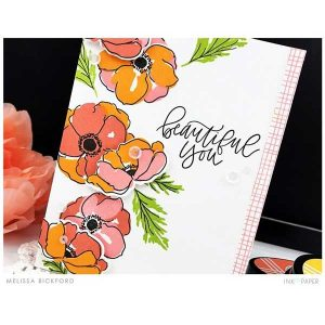 Ink To Paper Many Anemones stamp set class=