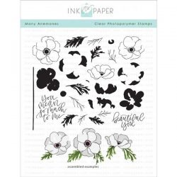 Ink To Paper Many Anemones stamp set