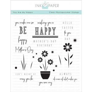 Ink To Paper You Are My Happy Stamp Set