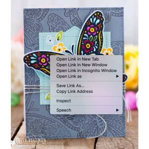 Papertrey Ink Butterfly Folk Stamp Set class=