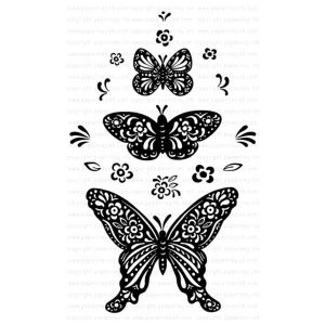 Papertrey Ink Butterfly Folk Stamp Set