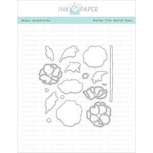 Ink To Paper Many Anemones die set