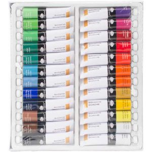 Royal Brush Gouache Acrylic Paints - 24 colors class=