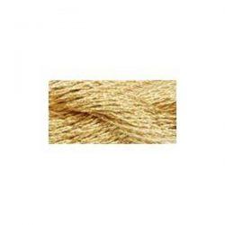 DMC Gold Metallic Pearl Cotton Skein Size 5