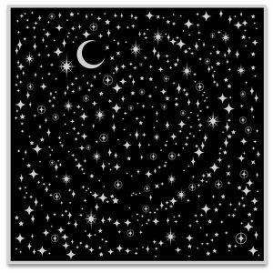 Hero Arts Background Cling Stamp - Star Light Star Bright