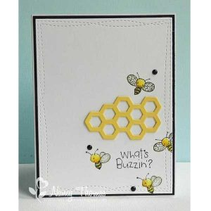 Purple Onion Designs Net, Butterfly & Bee Stamp class=