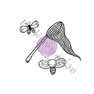 Purple Onion Designs Net, Butterfly & Bee Stamp