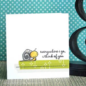 Purple Onion Designs Tucker (Snail) Stamp class=