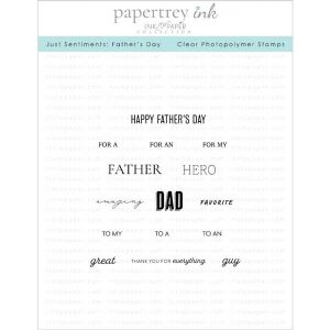 Papertrey Ink Just Sentiments: Father's Day Stamp Set