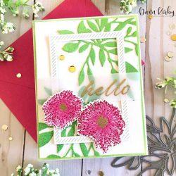 Papertrey Ink Floral Delicacies Stamp Set