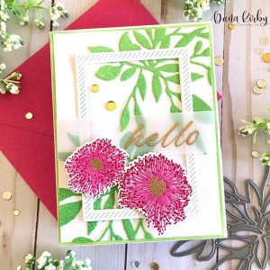 Papertrey Ink Floral Delicacies Stamp Set class=
