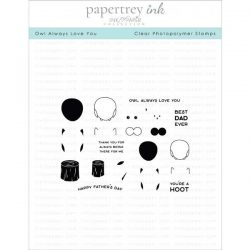 Papertrey Ink Owl Always Love You Stamp Set