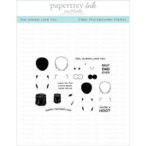 Papertrey Ink Owl Always Love You Stamp Set