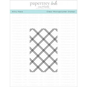 Papertrey Ink Nifty Plaid Stamp