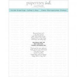 Papertrey Ink Inside Greetings: Father's Day Stamp Set