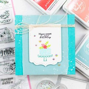 The Stamping Village Happy Birthday Stamp Set class=