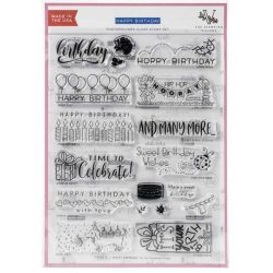 The Stamping Village Happy Birthday Stamp Set