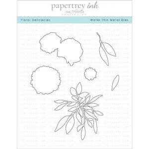 Papertrey Ink Floral Delicacies Dies