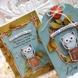 Papertrey Ink Owl Always Love You Dies