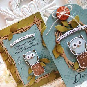 Papertrey Ink Owl Always Love You Dies class=