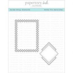 Papertrey Ink Border Bling: Diamonds Dies