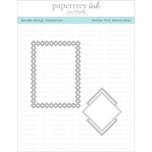 Papertrey Ink Border Bling: Diamonds Dies