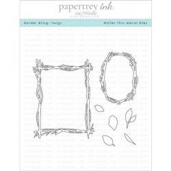 Papertrey Ink Border Bling: Twigs Dies